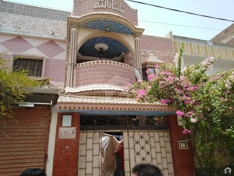 111 Sq Yard Double Storey House For Sale In Latifabad Unit 2
