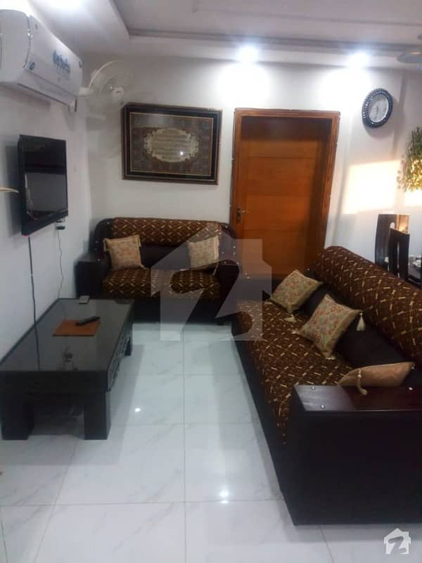 Two Bed Ideal Location Full Furnish Luxury Apartment Available For Rent In Bahria Town