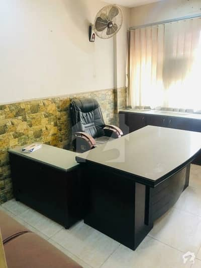 Furnished Office For Rent In Clifton Block 2