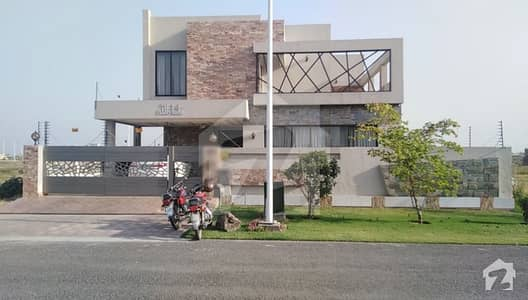 1 Kanal New Double Story House For Sale In S Block Dha Phase 7