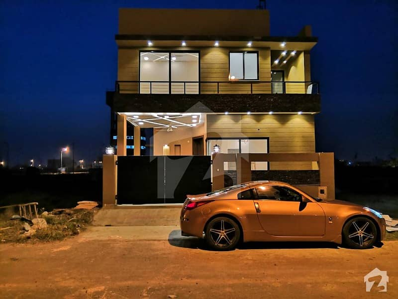 5 Marla Brand New House For Sale In T Block DHA Phase 7