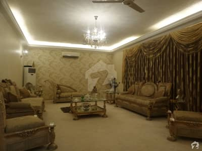 100 % Owner Build Well Maintained Bungalow For Sale At Very Peaceful Location Of Khayaban-e-Muhafiz