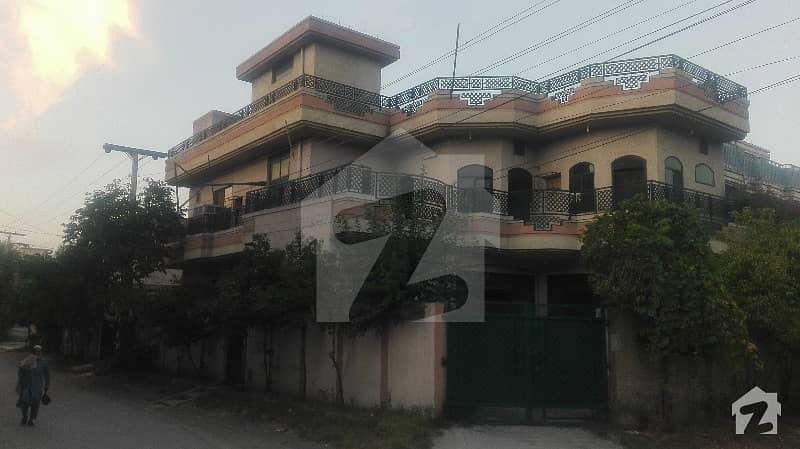 10 Marla Corner House In Phase 1 Hayatabad Town Peshawar