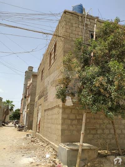 House For Sale Kda Employees Society 60 Yards West Open Corner 2 Side Korangi Karachi