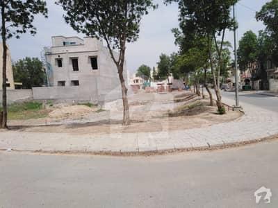14 Marla Corner Plot Jasmine Block Bahria Town Lahore