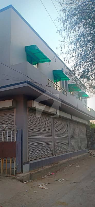 2 Shops With Flat For Sale