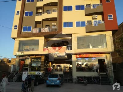 New Flat For Sale Main Gulberg Road Peshawar