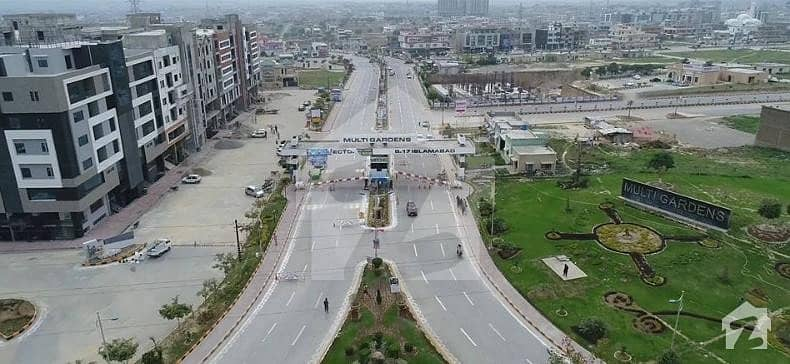 10 Marla Main Commercial Plot For Sale On Installment In Block G Multi Gardens B-17 Islamabad