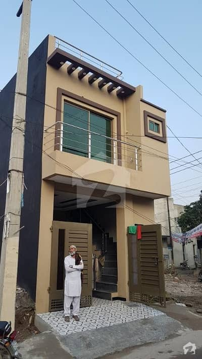 4 marla brand new house for sale in Ali Park airport road