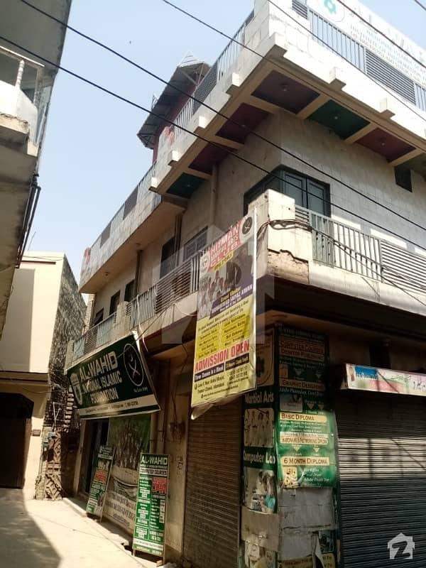4 Marla Triple Corner Commercial Building For Sale