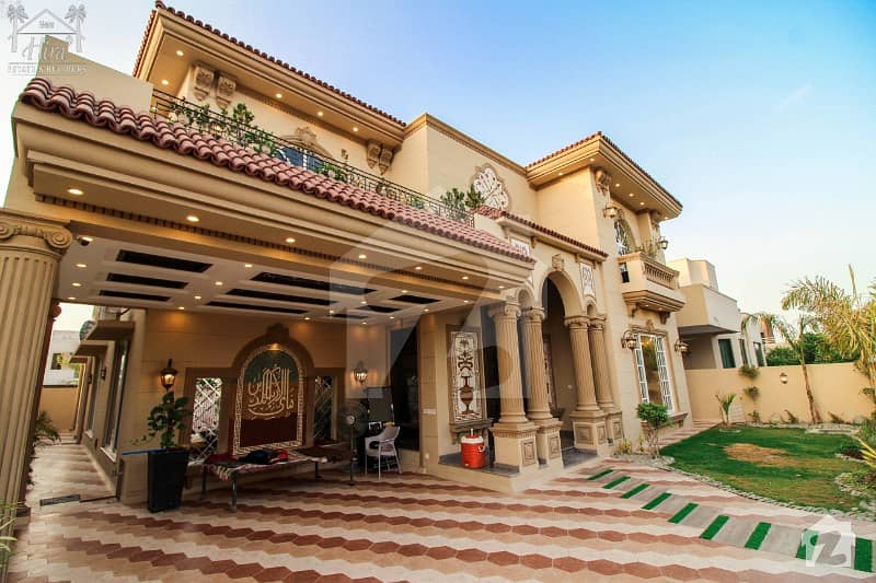 1 Kanal Outstanding Spanish Bungalow For Sale At Best Location