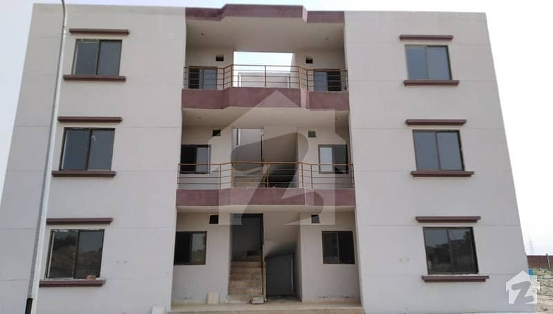 5 Marla Brand New Ground Floor Flat For Sale In P Block Of Khayaban e Amin