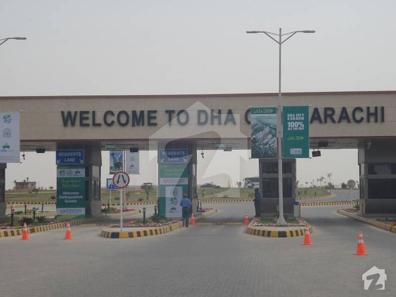 Good Location 300 Sq Yard Plot Is Up For Sale In DHA City  Sector 4A