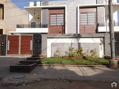300 Sq Yards Brand New One Unit House For Sale With Completion Certificate