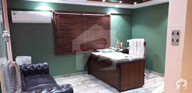 900 Square Feet Mezzanine Floor Fully Furnished Office Is Available On Sale At Nishat Commercial Phase 6 Dha