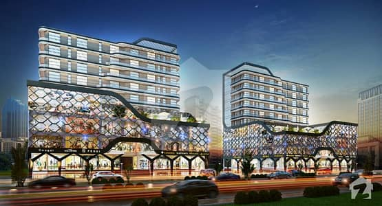 Gulberg Twin Tower Shop Outlets Is Available On Prime Location In Gulberg Green Islamabad