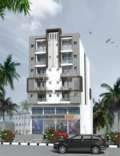 4 Rooms Brand New Apartment Is Available For Sale In Surjani Town Sector-6B/1
