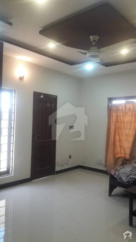 Brand New 10 Marla Ground Portion For Rent, Having 2 Bed With Attached Bath Drawing Dining T. v Lounge