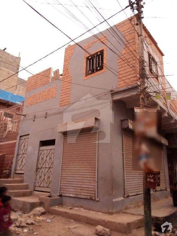 Corner House With Two Shop