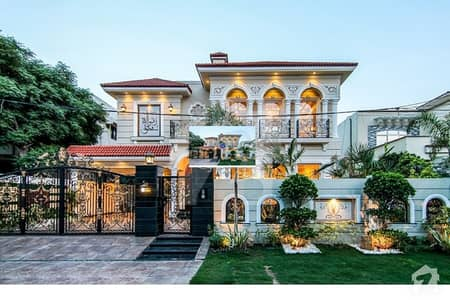 Syed Brothers Offer 20 Marla Brand New Luxurious Faisal Rasul Design Bungalow Near Sector Park For Sale