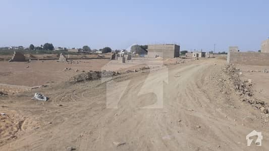 120 Square Feet Plot Is Available For Sale In Gulshan E Zia - Near To Northern Bypass Karachi
