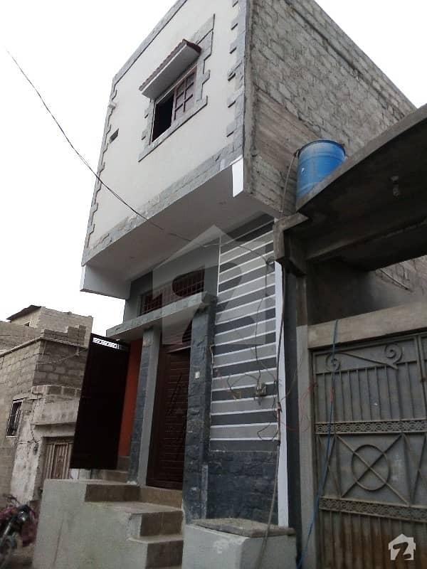کورنگی کراچی میں 3 کمروں کا 2 مرلہ مکان 40 لاکھ میں برائے فروخت۔