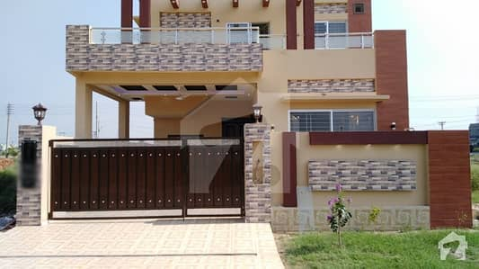 8 Marla Brand New House For Sale In DHA 11 Rahbar Halloki Garden