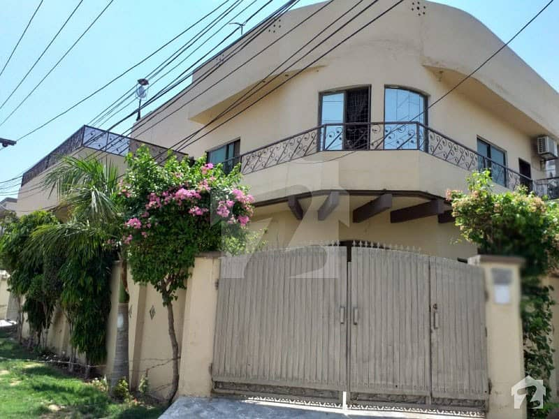 Corner Double Storey House Is Available For Sale On Main Road
