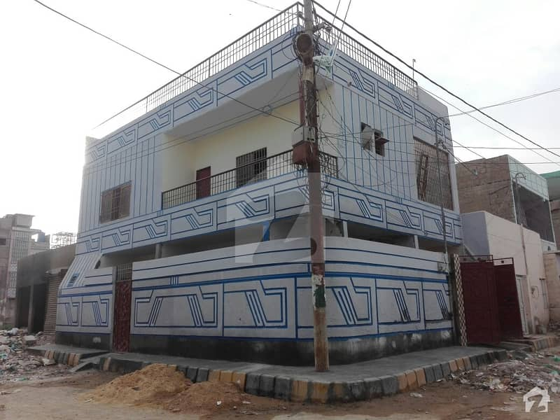 Corner Double Storey Is Available For Sale In Surjani Town - Sector 7C