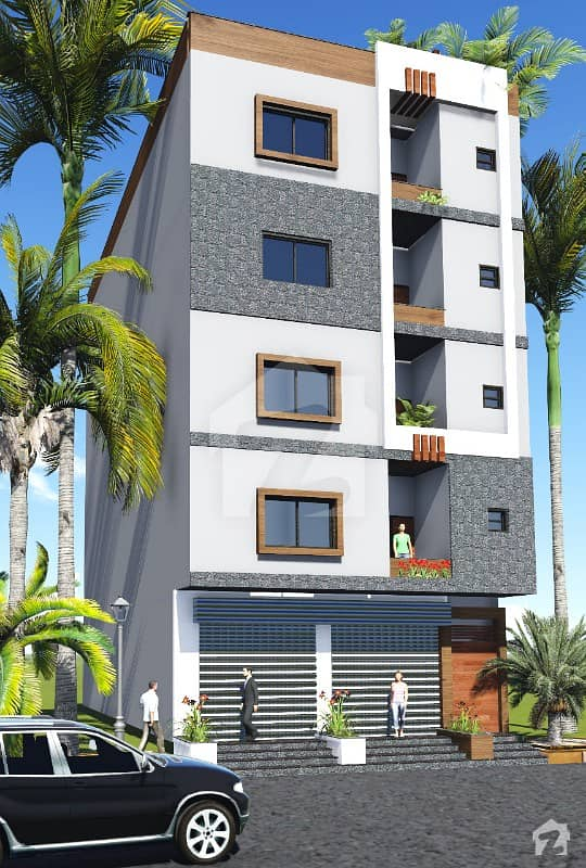 Flat Is Available For Sale On Booking Installment