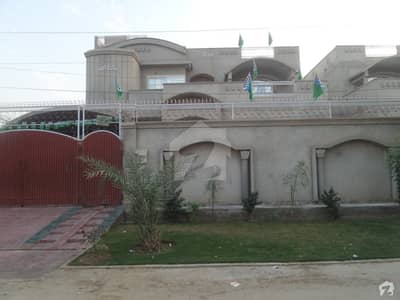 Beautiful Bungalow's Portion Is Available For Rent At Fawad Villas Okara