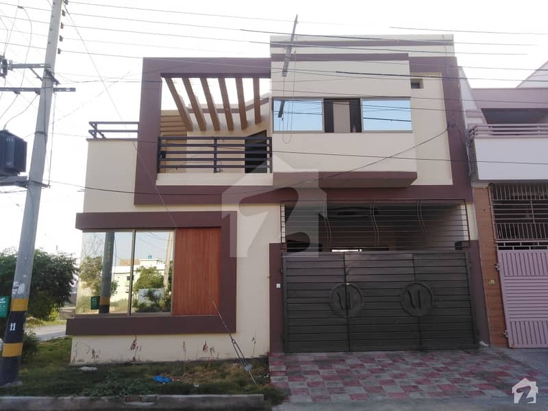 5. 5 Marla Double Storey Corner House Is Available For Rent