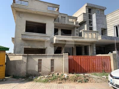 Gray Structure Corner House Is Available For Sale In Dha Islamabad