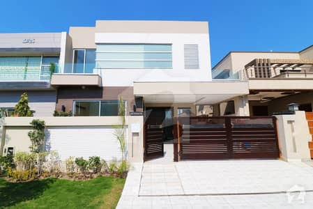 Brand New 10 Marla  Spectacular House Is For  Sale In A Prime Location Of Phase 6