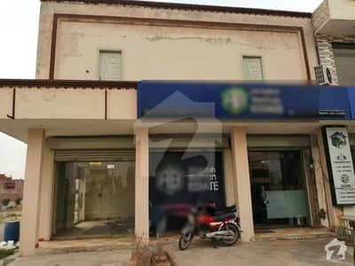 4 Marla Corner Double Storey Plaza For Sale At 1.5 Crore