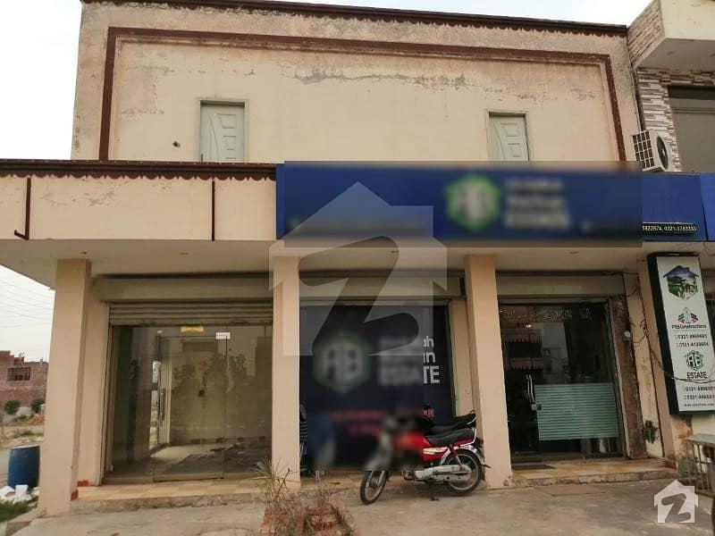 4 Marla Corner Double Storey Plaza For Sale At 1.5 Crore