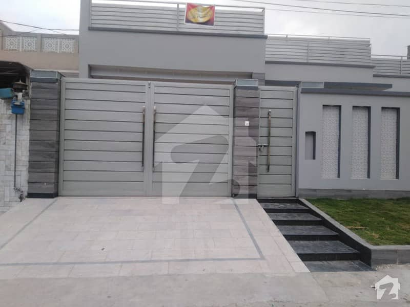 Double Storey Grey Structure House Is Available For Sale