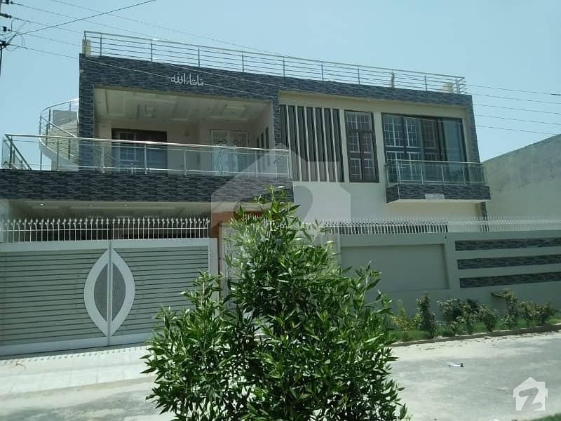 10 Marla Brand New House Urgent For Sale In Allama Iqbal Town Bahawalpur