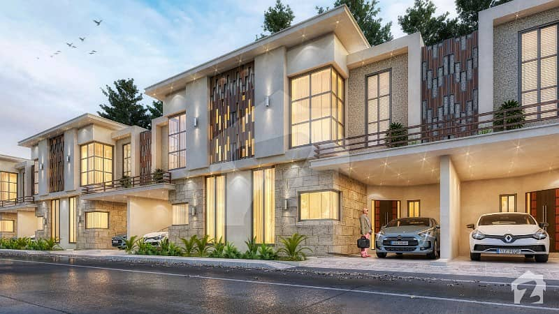 5 Marla 4 Bedrooms Strand Villas On 3 Years Easy Installment Plan In Pakistan First Ever Smart City