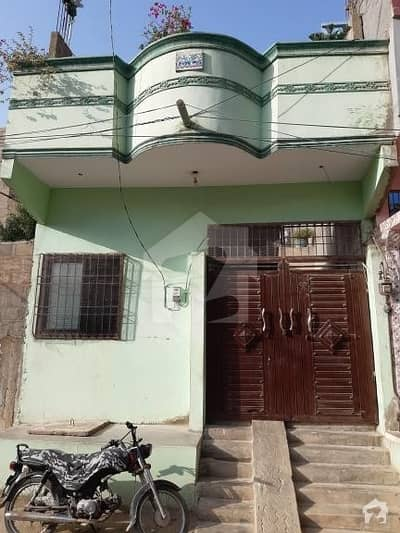 80 Sq Yd  West Open House For Sale  Main Sachal Goth A Block