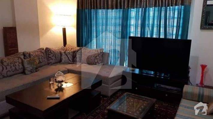 2 Bed Luxurious Furnished Flat For Sale On 1st Floor Phase 7