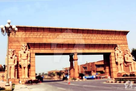 10 Marla Plot on 60 ft Wide Road For Sale in Bahria Town Lahore