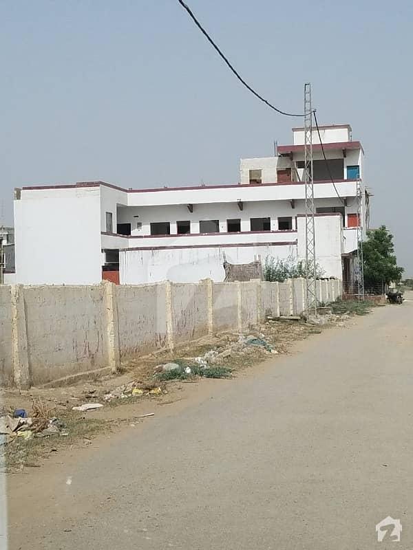 صفورا گوٹھ گلستانِ جوہر کراچی میں 8 مرلہ رہائشی پلاٹ 1. 5 کروڑ میں برائے فروخت۔