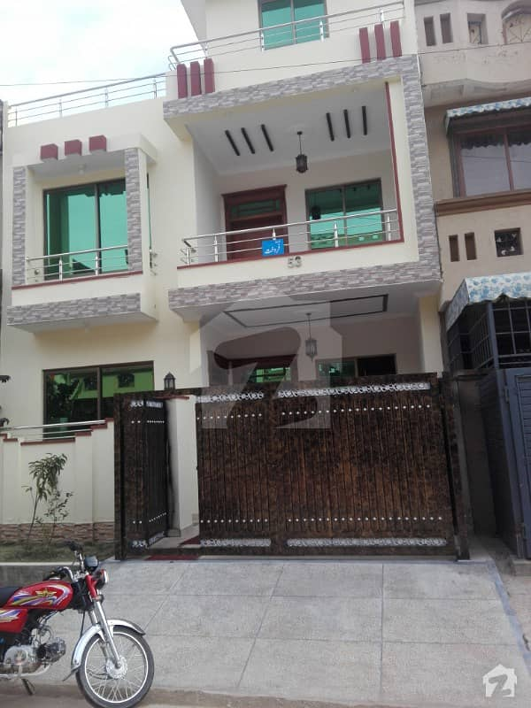 Brand New Sun Facing 4 Marla Beautiful House For Sale In G-13