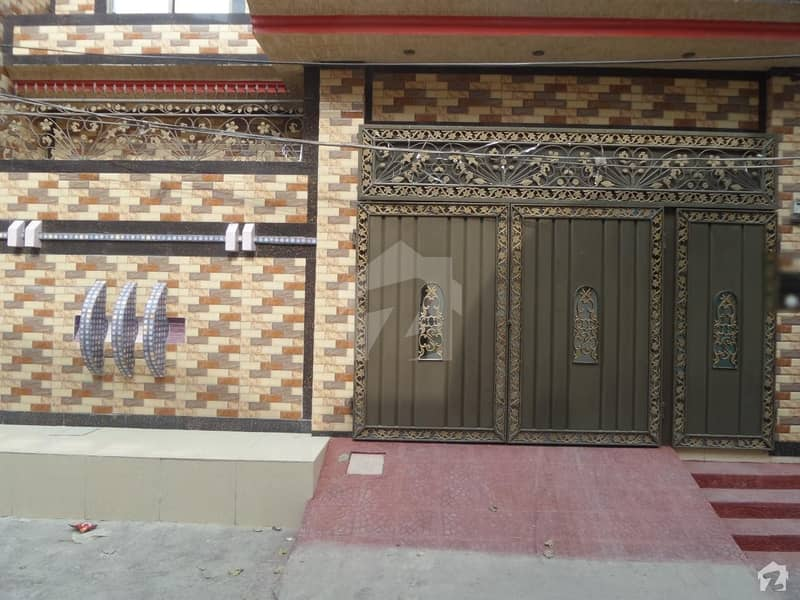 Double Story Beautiful House For Sale At Javed Town Okara
