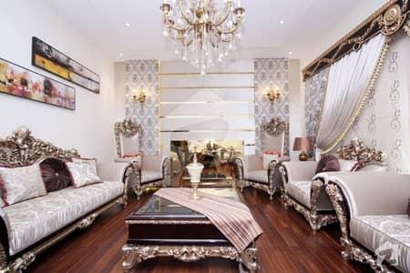 One Kanal Corner Brand New Top Location Super Luxury Full Furnished Villa