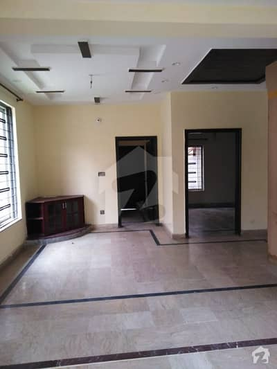 05 Marla Slightly Used Lower Portion Is For Rent In Wapda Town Housing Society Lahore G5 Block