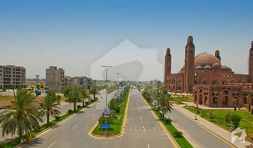 10 Marla Plot For Sale In Ghaznavi Block Sector F Bahria Town Lahore