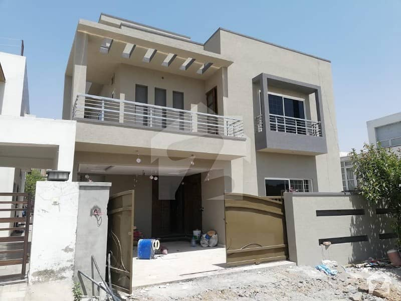 Brand New House Is Available For Sale In Bahria Town Phase 8 Front Back Open
