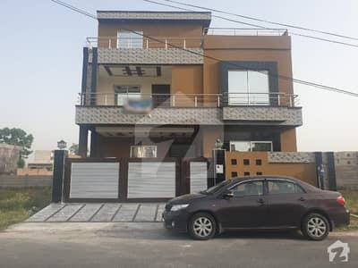 10 Marla Brand New Double Portion House Is Available For Sale